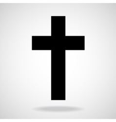Cross christian symbol vector