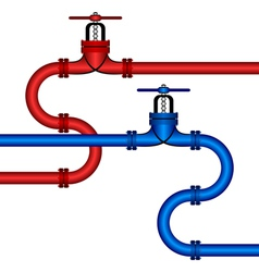 Different pipelines vector