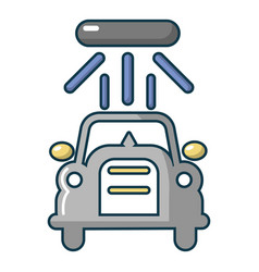 car wash icon cartoon style vector image