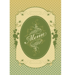 apple menu vector image