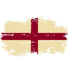 English grunge flag vector image vector image