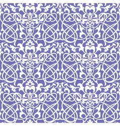 floral wallpaper decorative vector image vector image