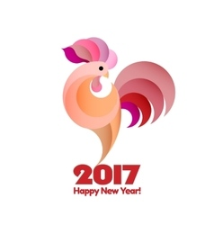 Happy new year 2017 background vector