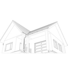 Sketch of the cottage vector