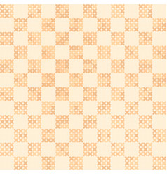 Cross-stitched seamless background vector