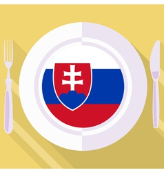 Kitchen of slovakia vector