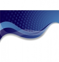 vector blue template with star vector image