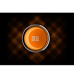 Sell button vector