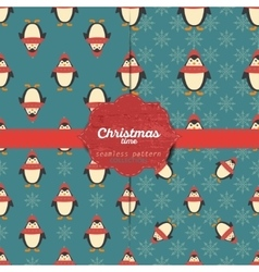 Set of christmas seamless patterns for xmas vector