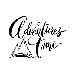 Adventures time card vector