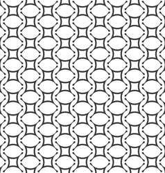 Geometric seamless pattern in arabic style vector image