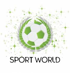 sports world vector image