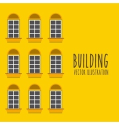 Front building vector