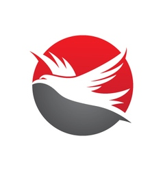 Falcon logo vector