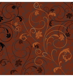 Abstract Natural floral ornament vector image