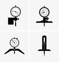 Depth gauge vector