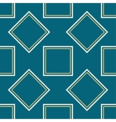A symmetrical square pattern vector