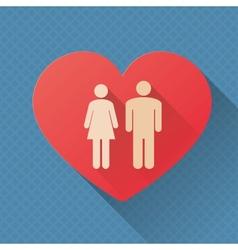love concept vector image