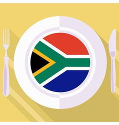 Kitchen of south africa vector