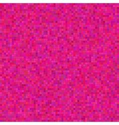 Seamless pink polka dot pattern vector image