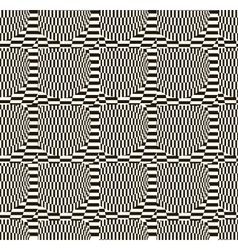 Abstract black and white checkered pattern vector image vector image