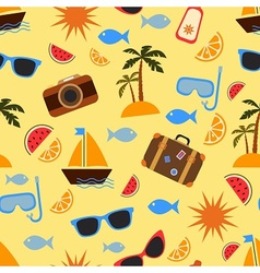 Summer vacation and travel vector