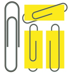 Paperclips vector