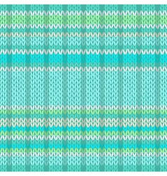 Seamless pattern knit texture fabric vector