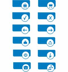 series icons for web vector image