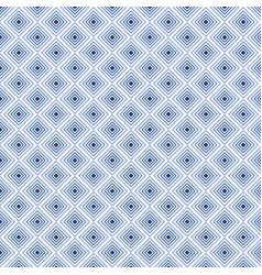 Indigo square background in seamless pattern vector