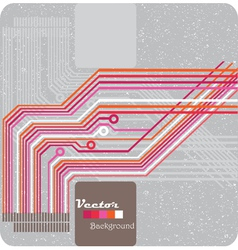 Retro grunge vector image
