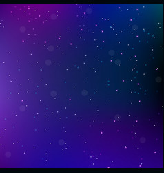 Sky night space abstract background with stars vector