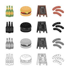 Tavern food recreation and other web icon in vector