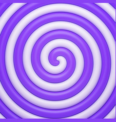 Abstract purple candy spiral background vector