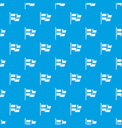 Flag of sweden pattern seamless blue vector