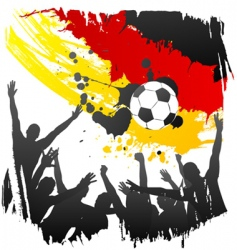 world cup Germany vector image