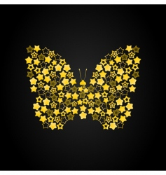 butterfly7 vector image