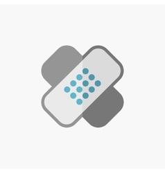 Bandage flat icon vector