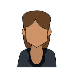 Business woman avatar icon image vector