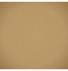 Corrugated cardboard background vector