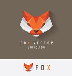 Fox business logo design vector