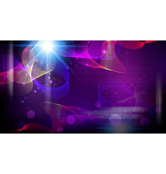 Futuristic abstract fantasy glowing background vector image vector image