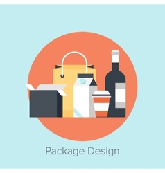 Package Design vector image
