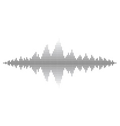 Sound wave abstract background design vector