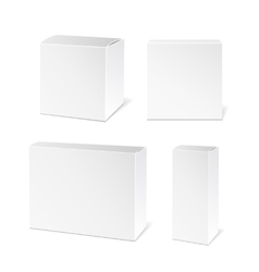 White package box vector