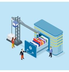Database storage vector