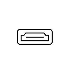 Hdmi icon vector