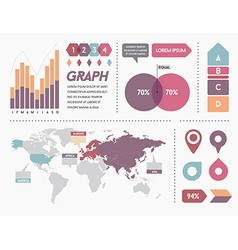 Infographics elements and objects big huge set all vector