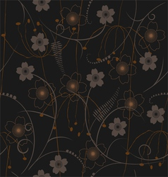 seamless pattern - wallpaper vector image