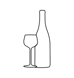 wine related icon image vector image